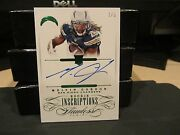 Panini Flawless Emerald On Card Autograph Chargers Melvin Gordon 2/5 2015