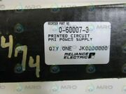 Reliance Electric Power Supply Board 0-60007-3 New In Box