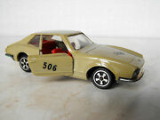Vintage Collectible Plastic Car Toy Soviet Russian 1-43 Ghia V. 280 Made In Ussr