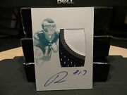 National Treasures Printing Plate Autograph Jersey Eagles Nelson Agholor /1 2015