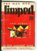 The Man Who Limped Kline, Rare Us Chartered Crime Sci-fi Digest Pulp Vintage Pb