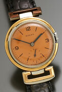 Rare Vintage Rolex Watch Ca1930s   Luxury Steel And Gold
