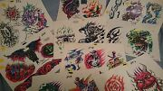9 Vintage St. Marq The Ink Master Tattoo Flash Sheets