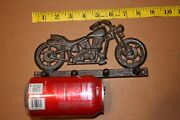 Vintage Look Motorcycle Decor Cast Iron Wall Hook, H-03