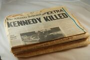 Kennedy Assassination November 22 23 24 25 26 27 28 And 29 1963