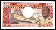 Central African Republic Andhellip P-1 Andhellip 500 Francs Andhellip Nd1974 ... Chxf-au