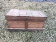 Antique Wooden Crate Rex Ford