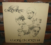 Earthrise World Citizen Lp First Press Rare Private Htf Oop 1978 Psych Folk