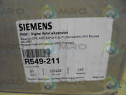Siemens R549-211 Digital Point Expansion Factory Seal