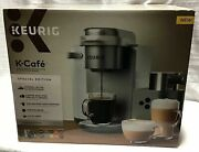 Keurig - K-cafe Single Serve K-cup Pod Coffee, Latte And Cappuccino Maker New