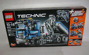 New 8052 Lego Technic Container Truck Tipper Trailer Power Building Retired A