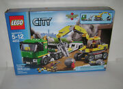 New 4203 Lego City Excavator Transport Building Toy Sealed Box Retired Rare A