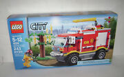 New 4208 Lego City 4 X 4 Fire Truck Building Toy Sealed Box Retired Rare A