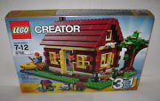 New 5766 Lego Creator Log Cabin 3 In 1 Building Toy Sealed Box Retired A