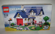 New 5891 Lego Creator Apple Tree House 3 In 1 Building Toy Sealed Box Retired A