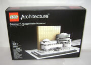 New 21004 Lego Architecture Solomon R. Guggenheim Museum Building Toy Retired A