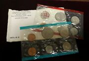 1971 P And D Uncirculated United States Us Mint Coin Set