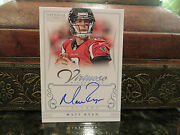 National Treasures Virtuoso On Card Autograph Falcons Matt Ryan 05/25 2012