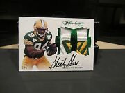 Panini Flawless On Card Autograph Jersey Packers Sterling Sharpe 1/5 2016