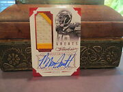 Panini Flawless Ruby Autograph Jersey Redskins Auto Bruce Smith 05/15 2014