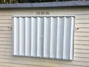 38x39 Diy Hurricane Accordion Shutters - Do It Yourself And Save A Lot Of