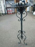 Vintage Antique Ash Tray Stand - Used