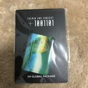 Taemin Shinee 2nd Solo Concert T100101 Seoul Official Magnet Global Package Md