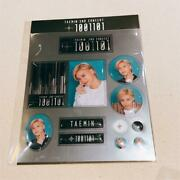 Taemin Shinee 2nd Solo Concert T100101 Sticker Set Global Package Official Goods