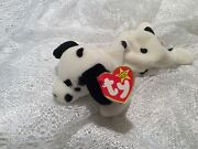 Extremely Rare Retired Ty Beanie Baby Dotty W/ Errors Excellent Condition