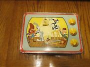 Vintage Sylvester Loony Tunes Metal Lunch Box 1959