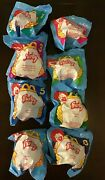 Complete Set Of 8 Mcdonalds Happy Meal Toys 1998 Furby Nip