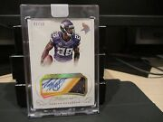 Panini Flawless Gold On Card Autograph Jersey Vikings Adrian Peterson 02/10 2015