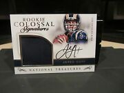 National Treasures Rookie Colossal Autograph Jersey Rams Jared Goff 36/49 2016