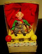 Unique Vintage Arnold Shows - Circus Clown Celluloid W Germany Mib