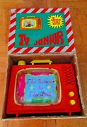 Vintage Rare Greek Tv Junior Fairy Tail Story And Music Box Penny Toy By Km 70s