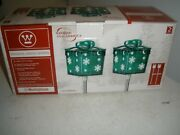 New Westinghouse Solar Holiday Lights Set Cordless Christmas 2 Gifts 218602