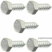 Lag Bolt Screw Hot Dipped Galvanized A307 Alloy Steel 1/2 X 18 Qty 250