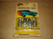 Vintage 1960s Nos Eelco Locking Mag Wheel Nuts Gm Cadillac Olds Plymouth Amc