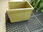 Rare Antique U.s. Stoneware Co Of Akron Ohio Stamped 4 Mustard Glaze Crock