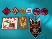 Vintage Boy Scout/cub Scout Patches Merit Badges And Others Lot Of 9