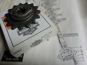 Aermacchi Ss250 New Old Stock/new In Box 15 Tooth Sprocket 35175-76p