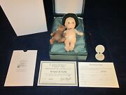 R John Wright Kewpie And Teddy Collector Club 1999/2000 Signed Tag New In Box