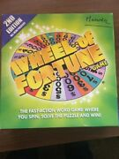 New Wheel Of Fortune Family Board Game 2nd Edition 2005