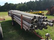 6 Twist Lock Aluminum Irrigation Pipe 20and039 Long 780and039 Available