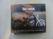 Harley-davidson Motor Cycles A 2011 Day-at-a-time Desk Calendar