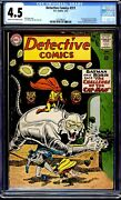 Detective Comics 311 Cgc 4.5 1st Appearance Of Catman And Zook Martian Manhunter