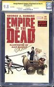 George Romero'sempire Of The Dead Act One Sig Series Maleev Cgc 9.8 Wp Show