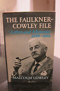 The Faulkner-cowley File - Letters And Memories 1944-1962
