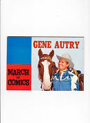 March Of Comics No.135 1955  Gene Autry  Photo Cover