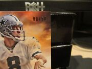 National Treasures Hall Of Fame 2006 Jersey Cowboys Troy Aikman 08/50 2013